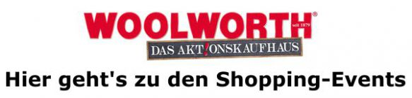Zu den Shopping-Events von Woolworth